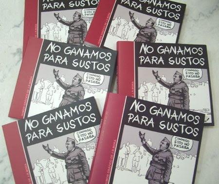 """Libro """"No ganamos para sustos"""" de JRMora"""