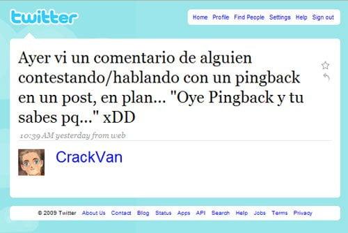 pingback