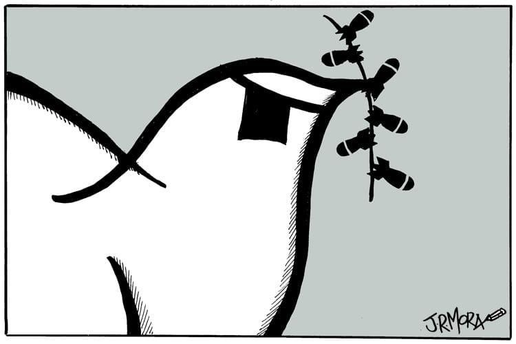 Viñetas sobre la paz