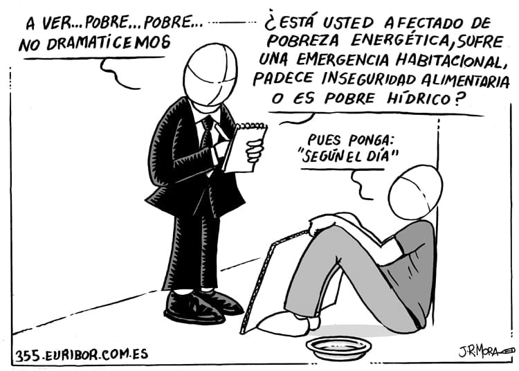 Pobreza energética, postureo etimológico