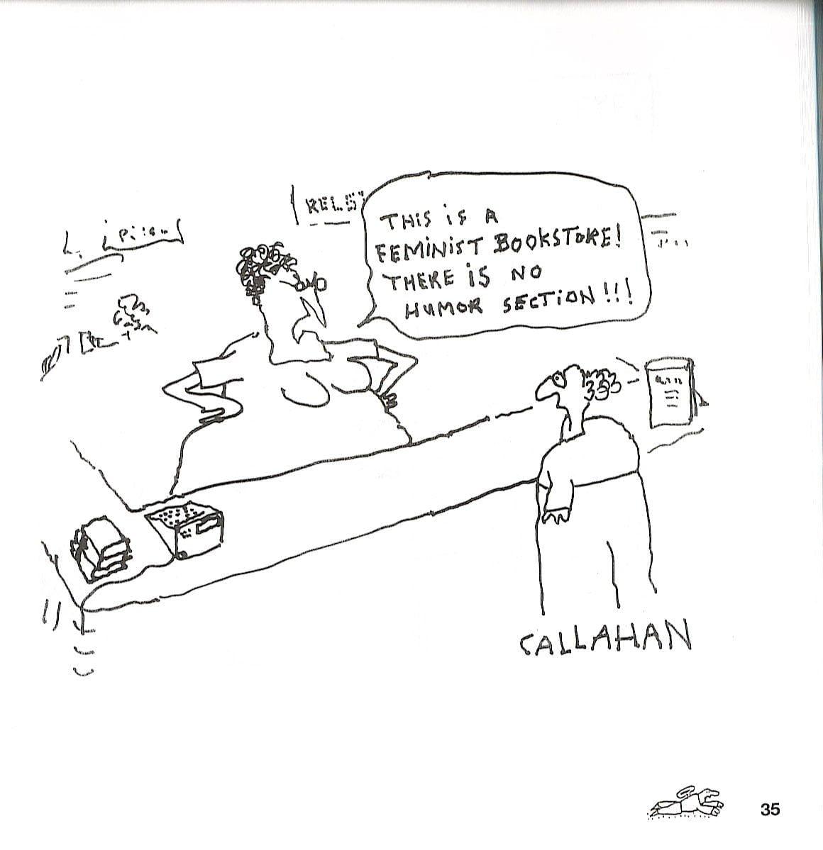 John Callahan, una de sus viñetas