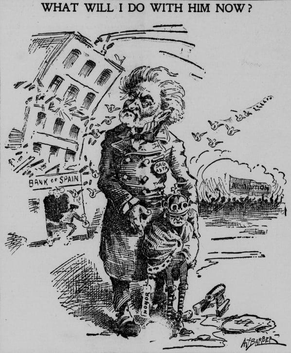 La guerra hispano-estadounidense de 1898 en viñetas 16