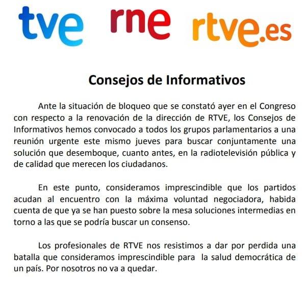 RTVE redacta una norma que permite a la dirección espiar los correos electrónicos de sus periodistas 4