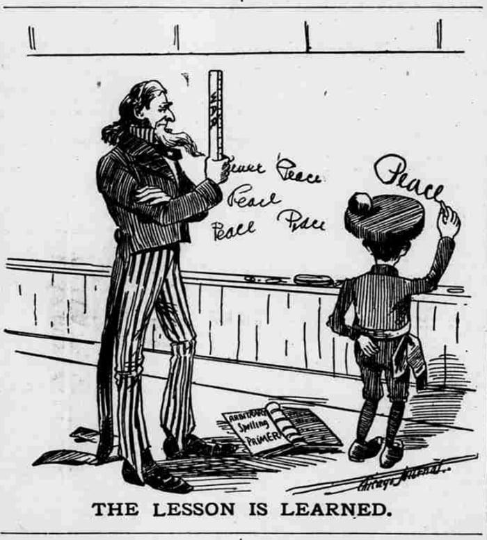 La guerra hispano-estadounidense de 1898 en viñetas 25