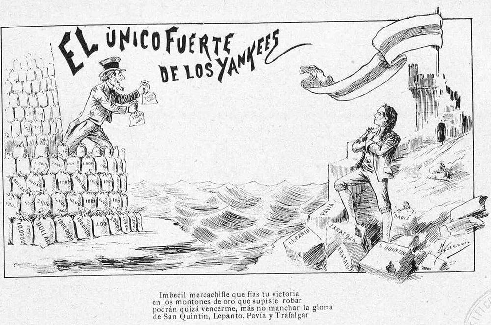 La guerra hispano-estadounidense de 1898 en viñetas 17