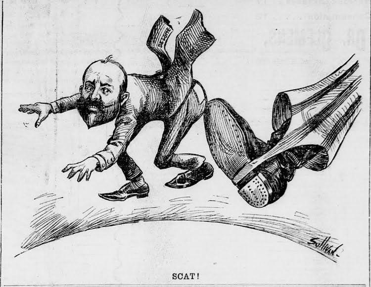 La guerra hispano-estadounidense en viñetas