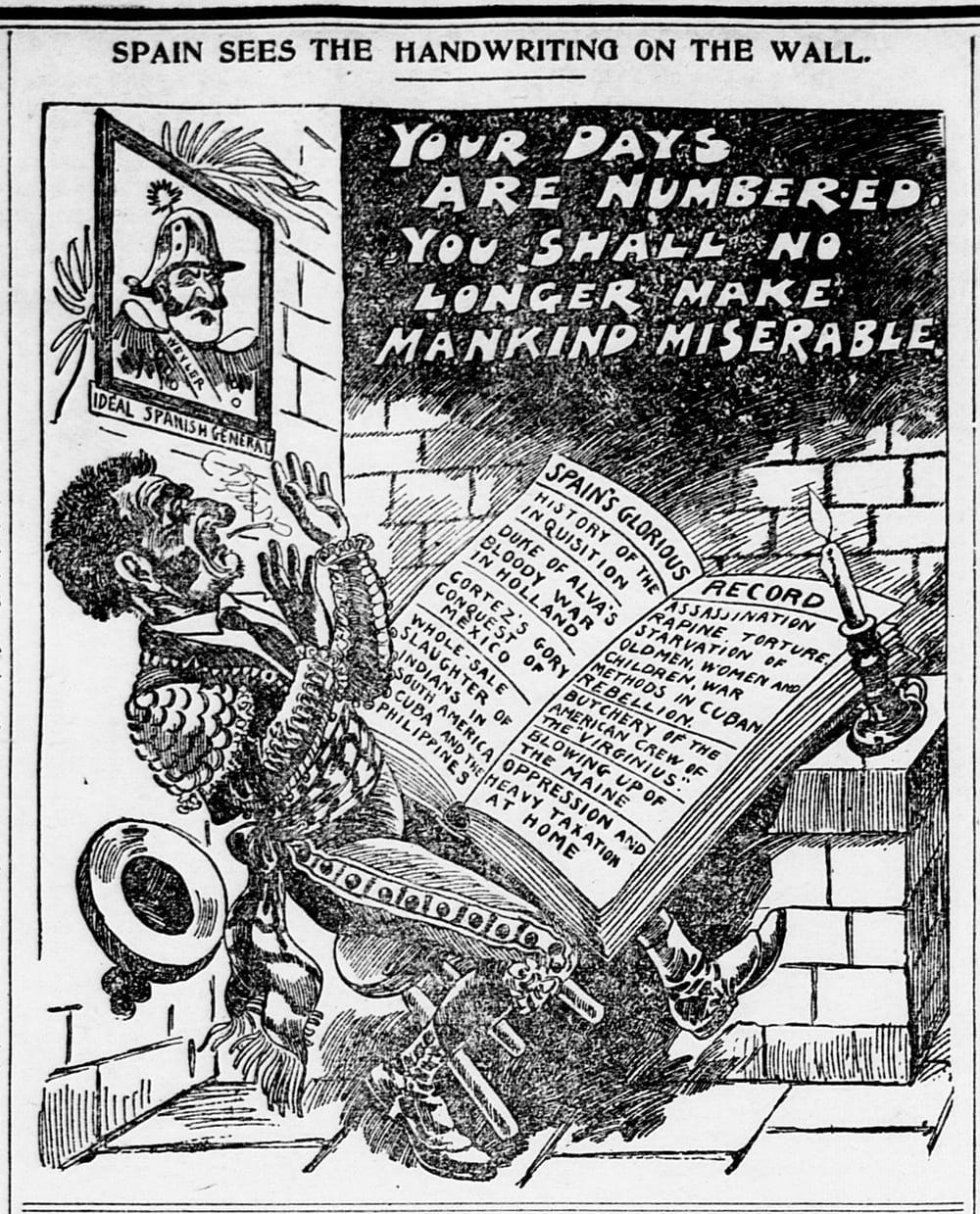 La guerra hispano-estadounidense de 1898 en viñetas 23