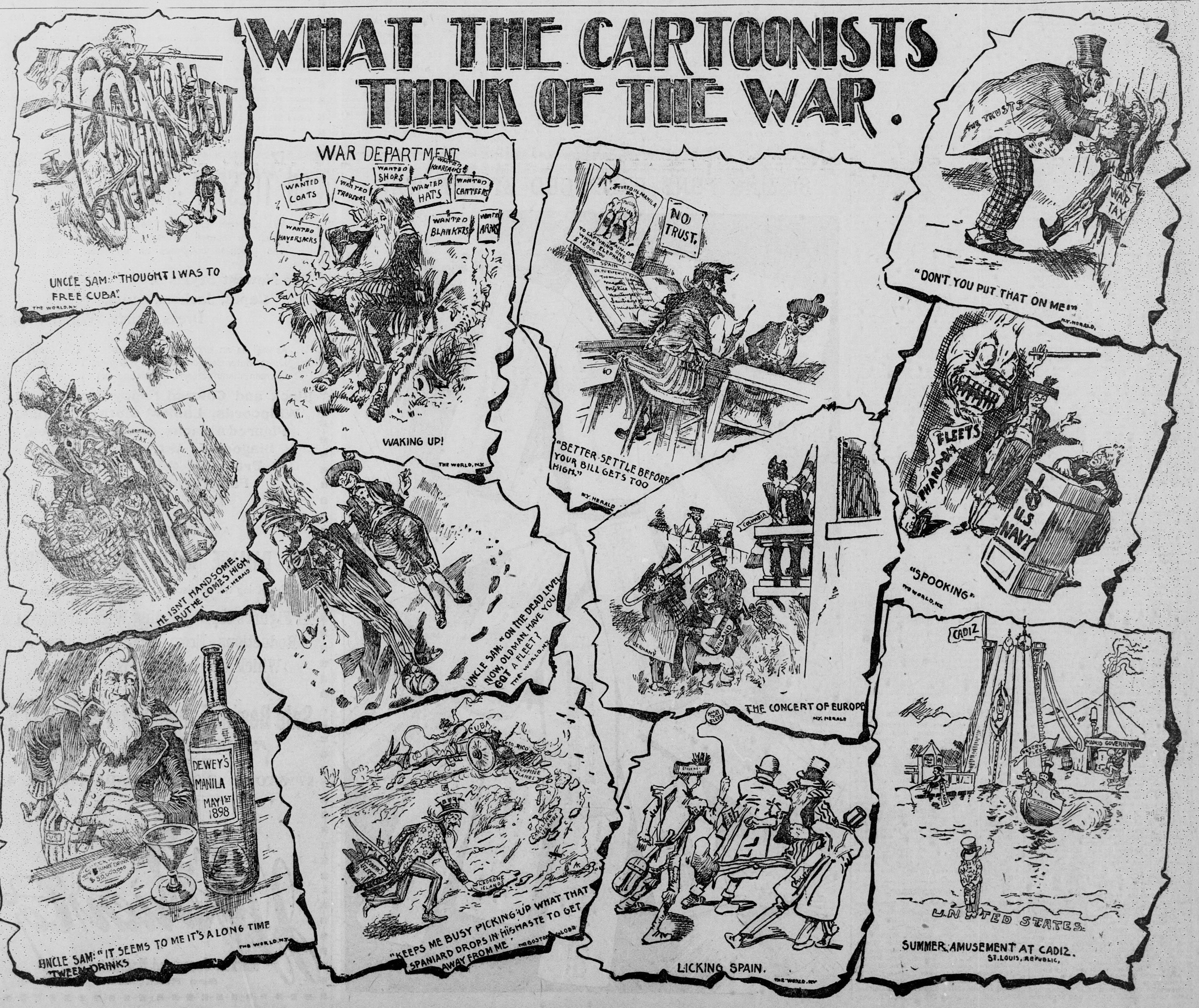 La guerra hispano-estadounidense de 1898 en viñetas 18