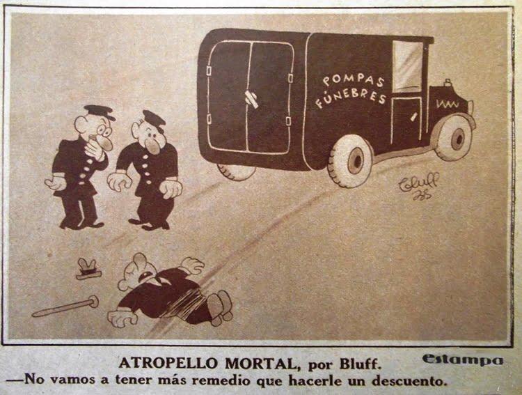 Redescubriendo a Bluff, el dibujante que desafió al fascismo (1903-1940)