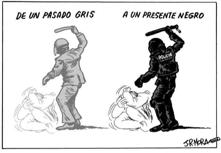 """""""La Carga"""" o la violencia del Estado contra el pueblo"""
