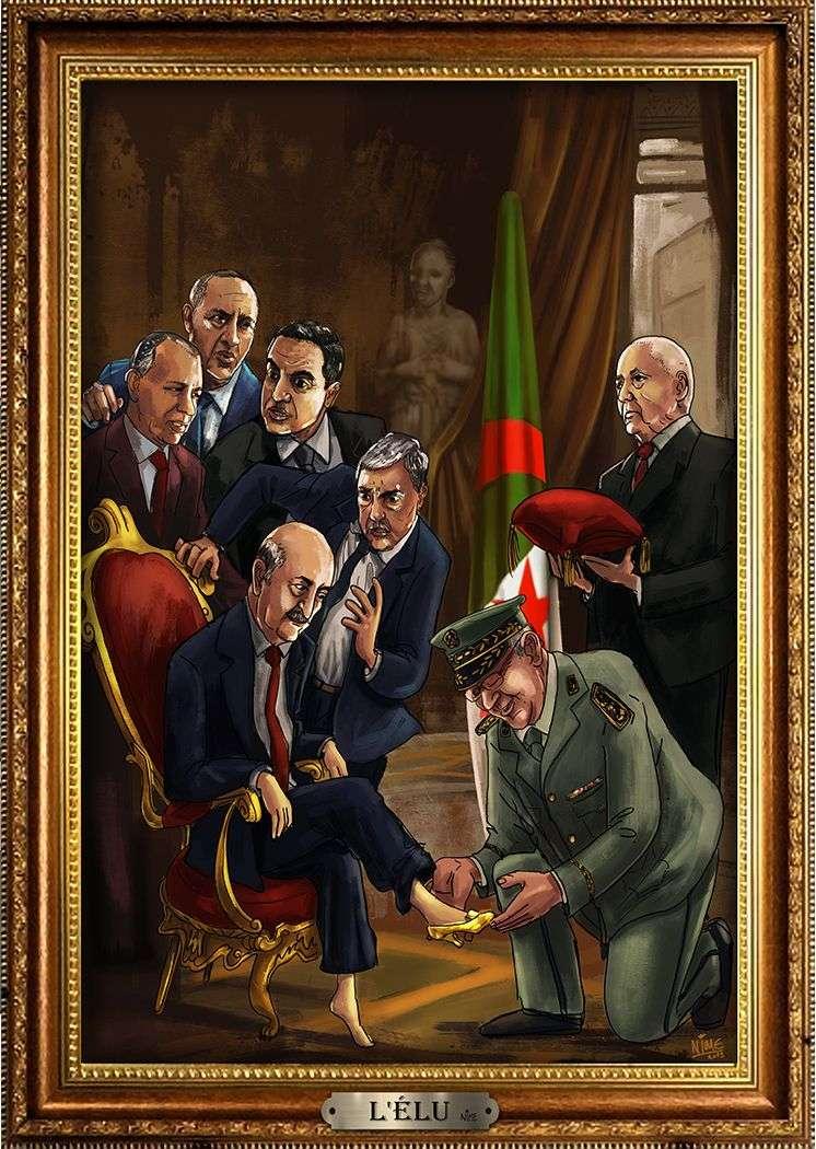 Detienen a un dibujante por satirizar a políticos a militares argelinos