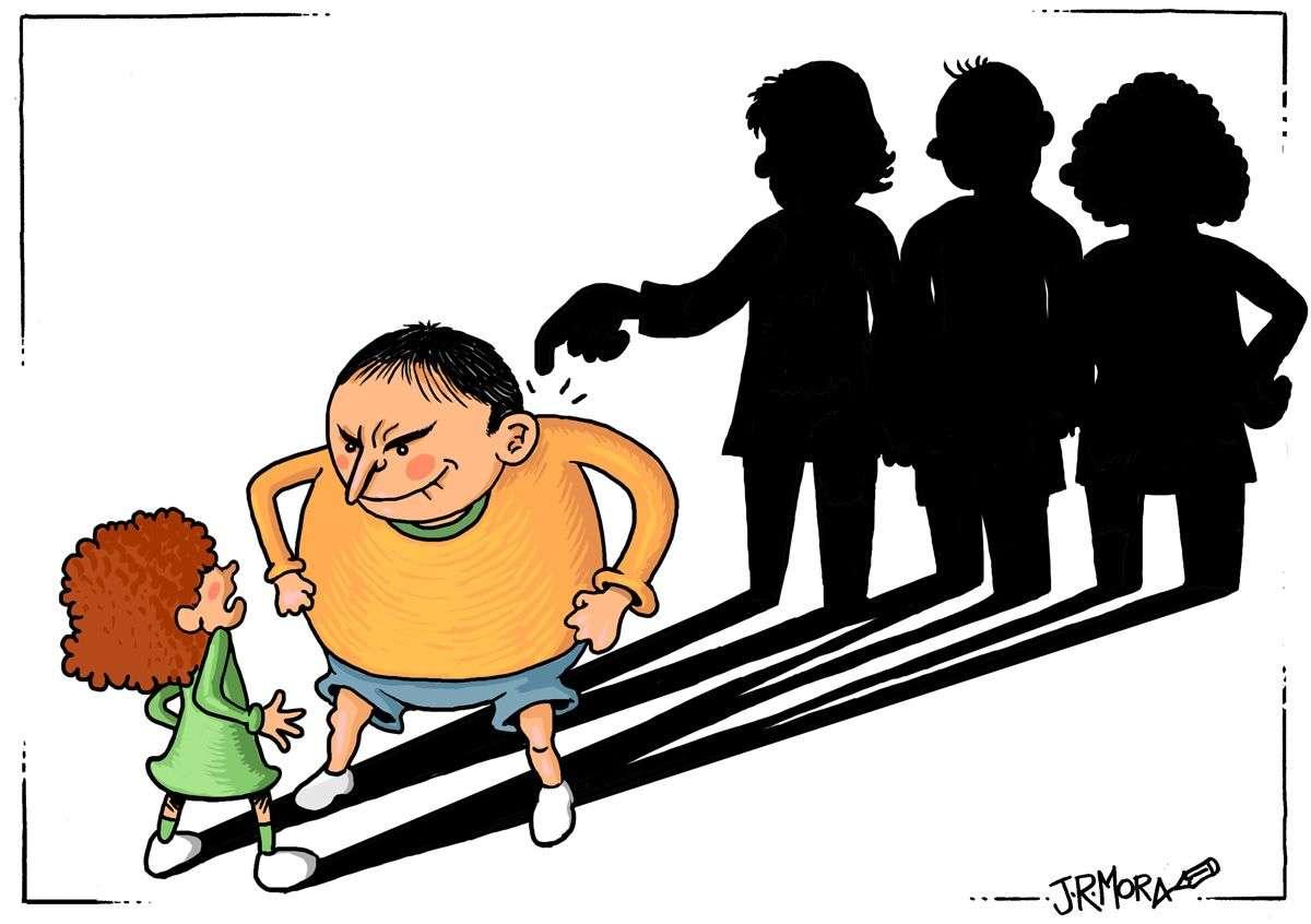 Exposición de humor gráfico sobre acoso escolar