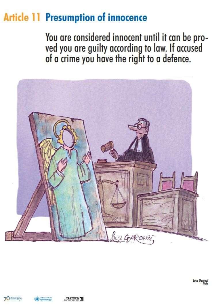Sindicato policial pide la retirada de una viñeta de una exposición sobre derechos humanos 12