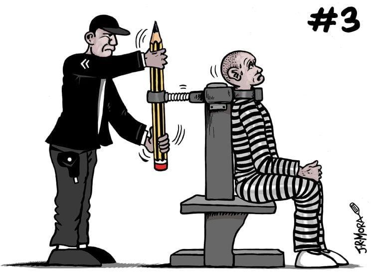 """La policía egipcia detiene a un dibujante por """"uso indebido de redes sociales y difusión de noticias falsas"""" 3"""
