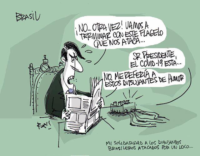 Dibujantes brasileños defienden a un compañero amenazado por el gobierno de Bolsonaro 41