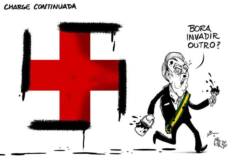Dibujantes brasileños defienden a un compañero amenazado por el gobierno de Bolsonaro 36