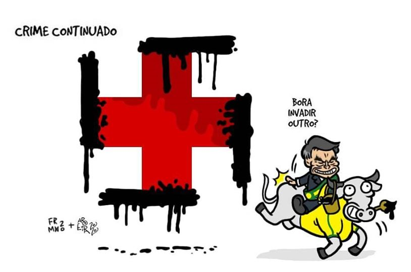 Dibujantes brasileños defienden a un compañero amenazado por el gobierno de Bolsonaro 28