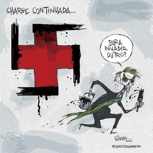 Dibujantes brasileños defienden a un compañero amenazado por el gobierno de Bolsonaro 25