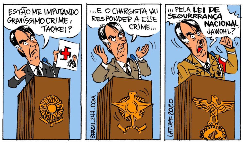 Dibujantes brasileños defienden a un compañero amenazado por el gobierno de Bolsonaro 17