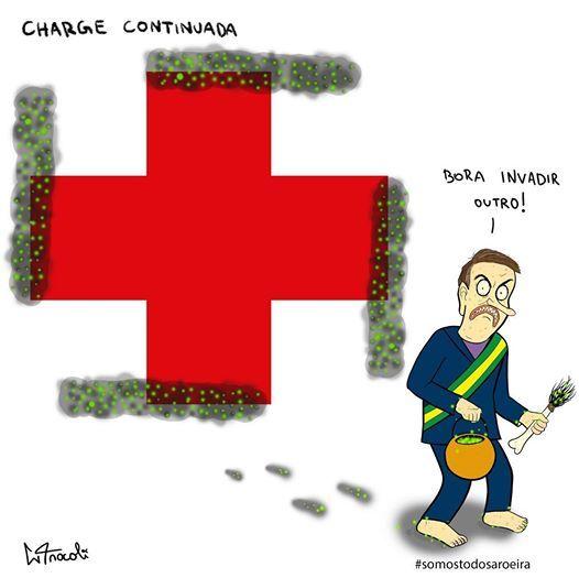 Dibujantes brasileños defienden a un compañero amenazado por el gobierno de Bolsonaro 16
