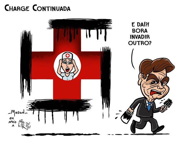 Dibujantes brasileños defienden a un compañero amenazado por el gobierno de Bolsonaro 13