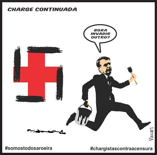 Dibujantes brasileños defienden a un compañero amenazado por el gobierno de Bolsonaro 12
