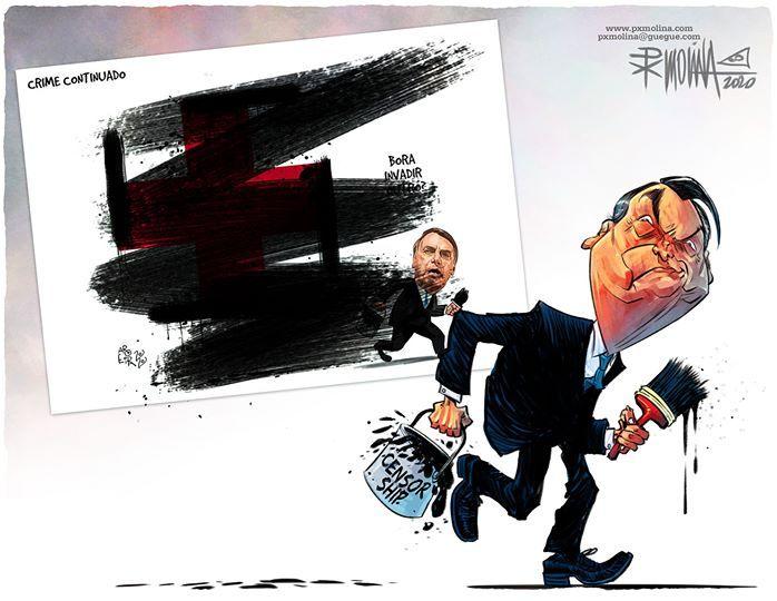 Dibujantes brasileños defienden a un compañero amenazado por el gobierno de Bolsonaro 8