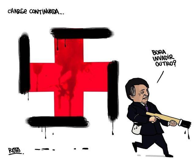Dibujantes brasileños defienden a un compañero amenazado por el gobierno de Bolsonaro 6