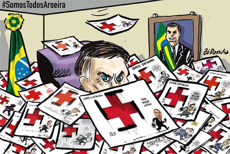 Dibujantes brasileños defienden a un compañero amenazado por el gobierno de Bolsonaro