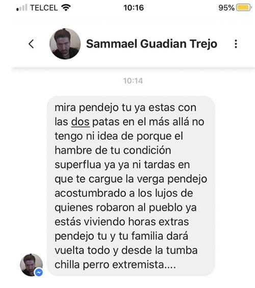 """El viñetista mexicano """"Rapé"""" denuncia amenazas de muerte 1"""