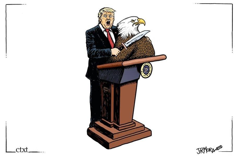 Trump ante el resultado de las elecciones
