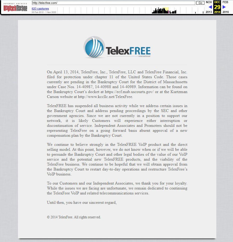 Telexfree. El legado de Ponzi, la estafa piramidal
