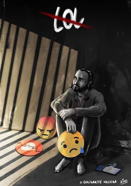 Walid Kechida, tres años de cárcel por publicar memes satirizando al Estado y la religión