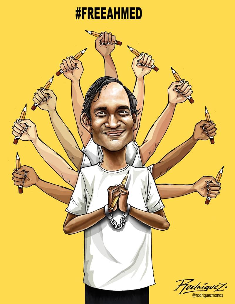 El Tribunal Superior de Bangladesh decide hoy sobre la libertad del dibujante Kabir Kishore