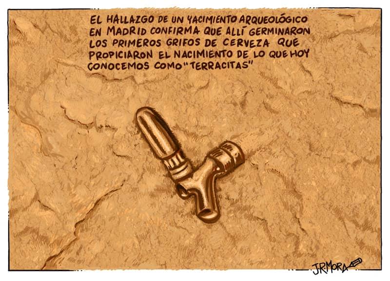 Sorprendente descubrimiento arqueológico en Madrid