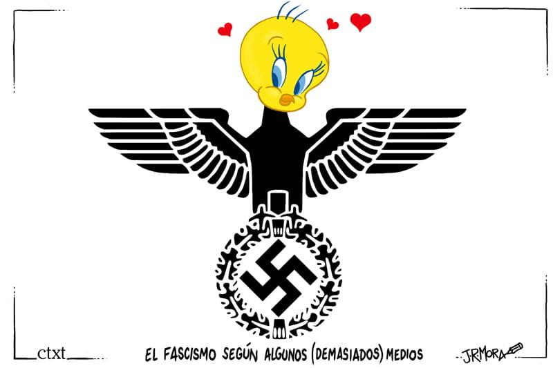 Blanqueando el fascismo